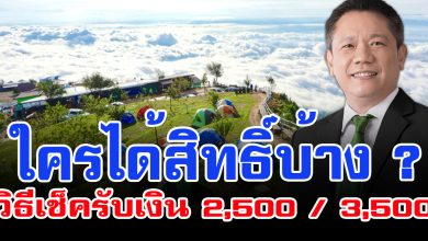 """Photo of ใครได้สิทธิบ้าง เปิดวิธี """"เช็คสิทธิ์รับเงินเที่ยวปันสุข"""" ใครได้ 2,500 เเละ 3,500"""