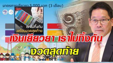 Photo of ไม่ต้องตกใจ เงิน เยียวยา เราไม่ทิ้งกัน งวดสุดท้ายไม่เข้าเพราะสาเหตุนี้