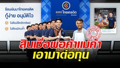 Photo of ด่วน ธนาคารไทยเครดิต ปล่อยสินเชื่อเงินสด ไม่ใช้หลักประกัน ไม่ต้องมีคนค้ำ แค่มีหน้าร้าน