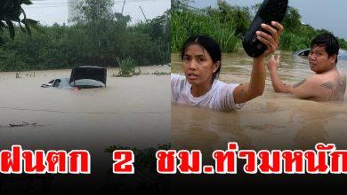 Photo of ฝนถล่ม 2 ชม. ท่วมหนัก พัทยา รถจมทั้งคัน คนหนีตา ย