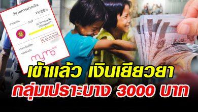 Photo of เข้าแล้ว เงินเยียวยา กลุ่มเปราะบาง 3000 บาท ใครไม่เข้ารีบเช็กสิทธิ์ด่วน