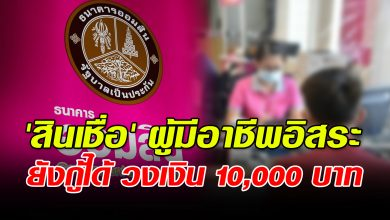 Photo of สอน วิธีลงทะเบียนกู้เงิน สินเชื่อผู้มีอาชีพอิสระ 10,000 บาท ไม่ต้องค้ำประกัน ยังเหลืออีกเยอะ